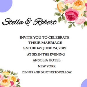 How to word wedding invitations ecards